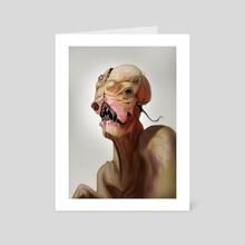 How pretty am I - Art Card by Jason Farmer