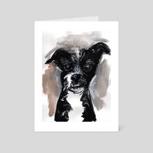 Eddie - Art Card by Dmitry Samarov