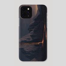 Lava Mountains - Phone Case by Winton Afrić