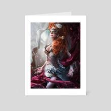Carlotta - Art Card by bruno wagner