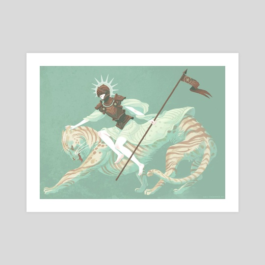 Conqueror & Catbeast by Kali Ciesemier