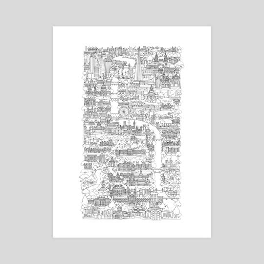 Vertical London by Abi Daker