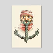 Anchor Sailor - Acrylic by Victor Beuren