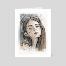 Looking at you - Art Card by Cristian Gutierrez