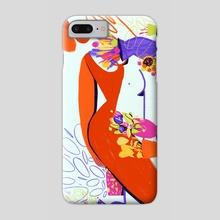 Plant Lady - Phone Case by Carolina Lopez