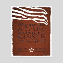 The Star Spangled Banner - Canvas by The Union Archive