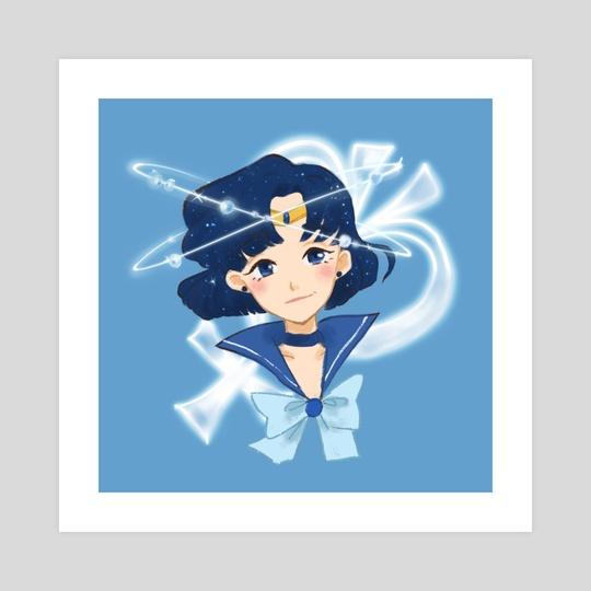 Sailor Mercury Galaxy by Alison Chan