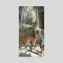 Tiger - 50 - Canvas by River Han