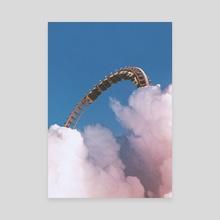 Escape - Canvas by Nikola Miljkovic