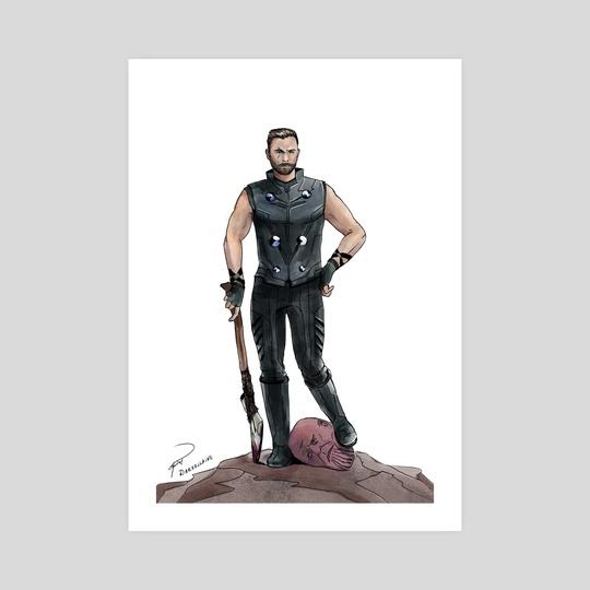 Thor The Titanslayer by Elena Vitkovskaya