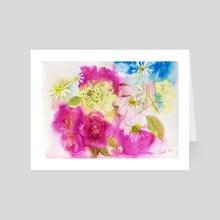 Summer  - Art Card by Katerina Sheinikova