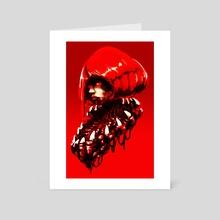 Hunger - Art Card by Paul Geronimos