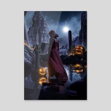 The Lost Maiden - Acrylic by Arijit Naskar