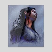 Ena (dark) - Acrylic by Vapidus