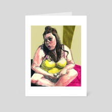 Angelica - Art Card by Vin Ganapathy