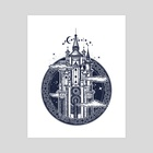 Castle - Art Print by intueri