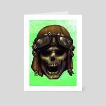 ZEDHEADZ - Flyboy - Art Card by Sal V Cloak