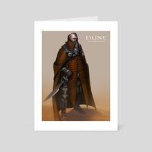 Dune_Harkonnen - Art Card by Bruno Gauthier Leblanc