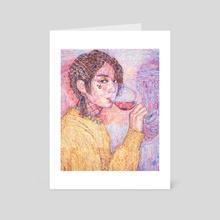UGH! - Art Card by Viktoria Moroz