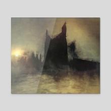 Citadel - Acrylic by Leoncio Harmr