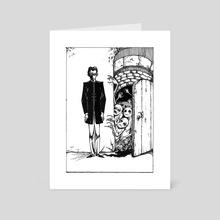 Hellish Door - Art Card by Gregory Alferowicz
