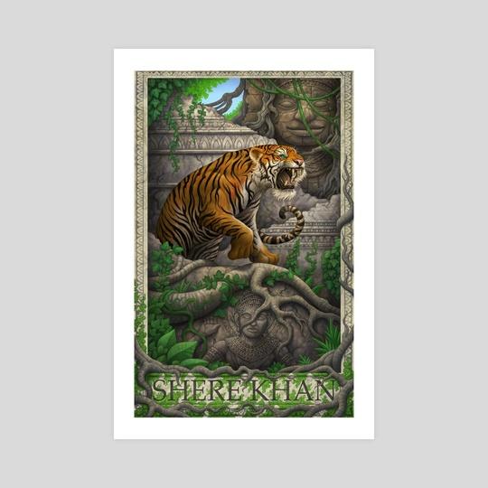 The Jungle Book- Shere Khan by daniel warren