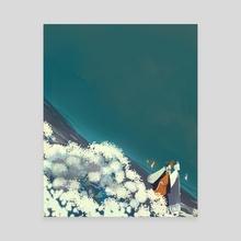 Foxfire: Hydrangea Hill - Canvas by Carolyn Gan