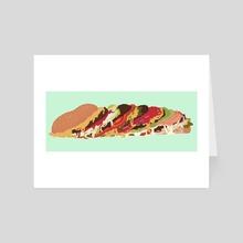 Burgers! - Art Card by Ejiwa Ebenebe