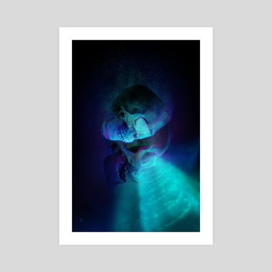 Dark Web (Skull Share 048) by Marc LaTulippe