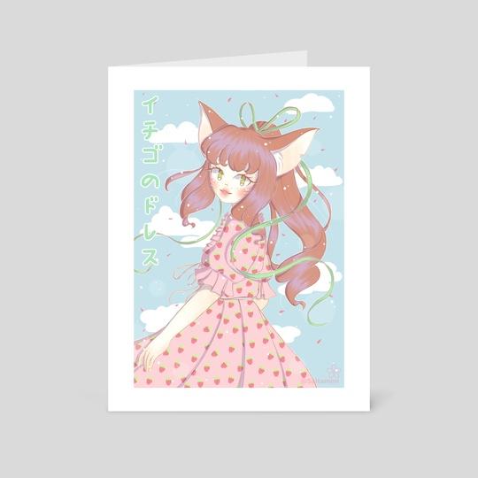 Strawberry Dress by Claudia Schliapnik