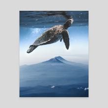 New Sky - Canvas by Merida Meri