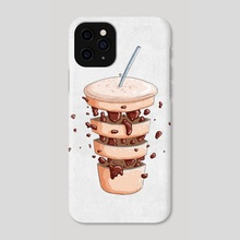 Coffee - Phone Case by AD