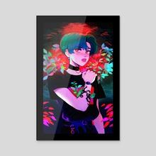 Pretty Boy - Acrylic by Yvo