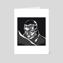 Dracula - Art Card by Skoches267