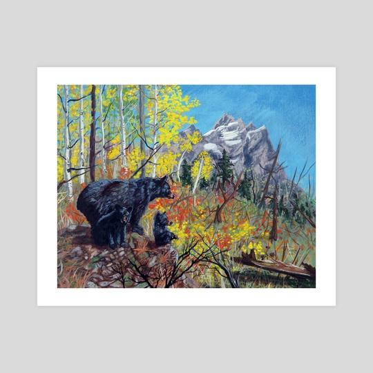 Yellowstone Bears by Mark Green
