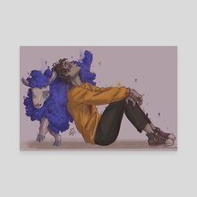 Ghostbur - Canvas by Ott Bott