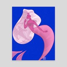 Want - Canvas by Jamila Mehio