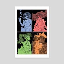 Inner Senshi - Canvas by Trungles