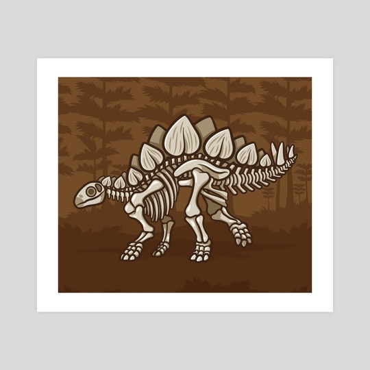 Extinct Lil' Stegosaurus by Jennifer Smith