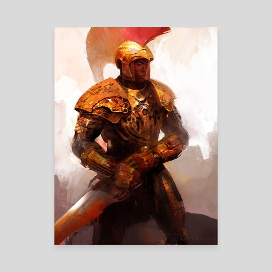Golden Soldier by Goran Bukvic