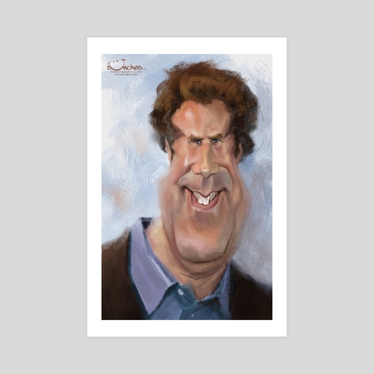 Will Ferrell by Alexander Novoseltsev