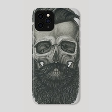 Bearded Skull - Phone Case by Vadim Zhulanov