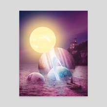 Plenty of Space - Canvas by Tony X Visuals