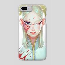 Wink - Phone Case by Viktoria Voronko