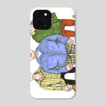 Superbad Homies - Phone Case by Adam Ballinger
