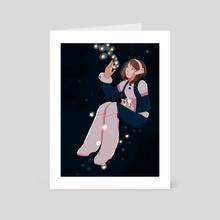 Uraraka Ochako - Art Card by Amy Liu