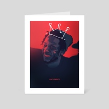 King Kendrick - Art Card by Sebastian