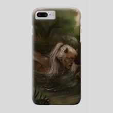 dark horse - Phone Case by harteus