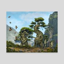 Pilgrimage - Canvas by Tom Kilian