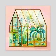 Greenhouse - Canvas by Carlotta Notaro
